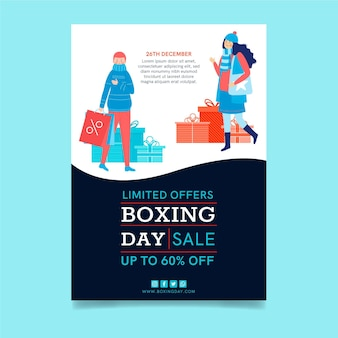 Boxing day flyer a5 vertikal