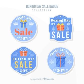 Boxing day sale abzeichen sammlung