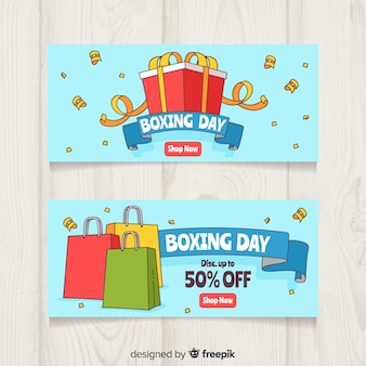 Boxing day sale banner