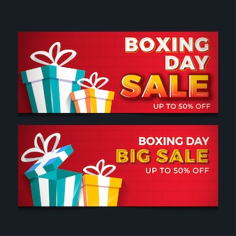 Boxing day sale-banner