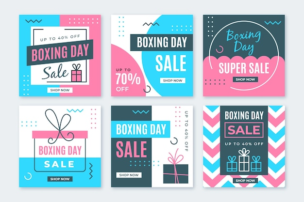 Boxing day sale instagram beitragssatz