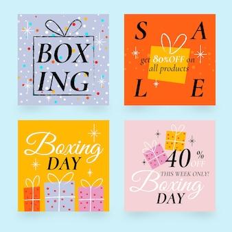 Boxing day sale instagram post sammlung