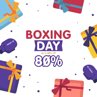 Boxing day sale web banner