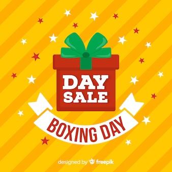 Boxing Day Verkauf Hintergrund