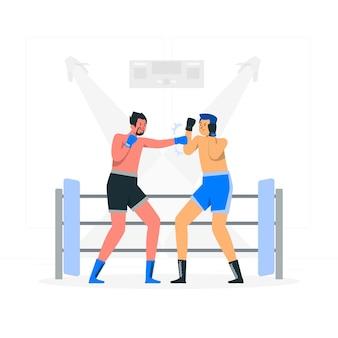 Boxkonzept illustration