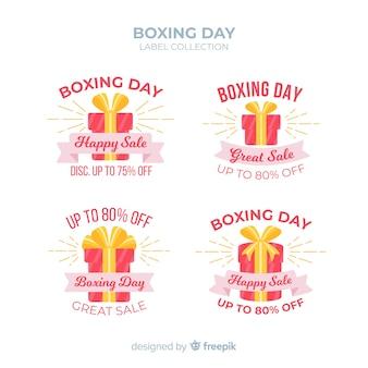 Boxtag verkauf etikettenkollektion