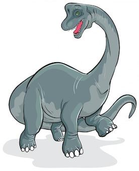 Brachiosaurus dinosaurier