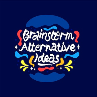Brainstorming alternative ideen zitat