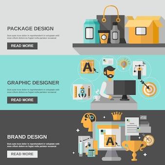 Branding-banner-set