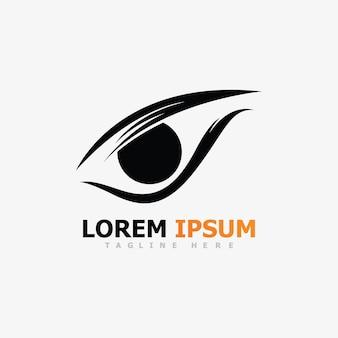 Branding identity corporate eye care vektor-logo-design