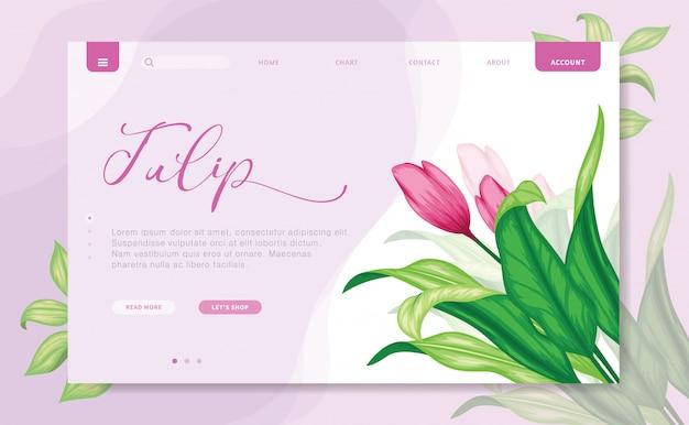 Branding-websiteschablone des modernen designs
