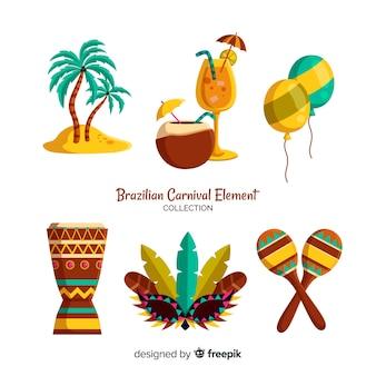 Brasilianische karnevalelemente
