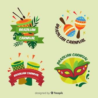 Brasilianische karnevalskollektion