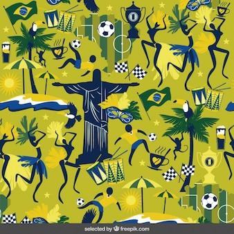 Brasilianischen kultur hintergrund