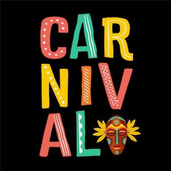 Brasilianischer karneval.