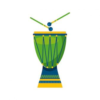 Brasilianisches kulturdesign