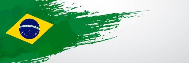 Brasilien banner pinsel