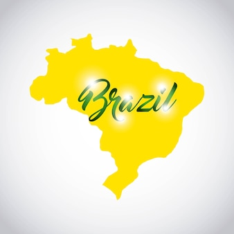 Brasilien-briefmarken-design