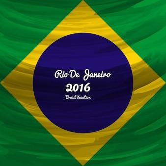Brasilien farben moderner hintergrund