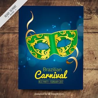 Brasilien karneval party broschüre
