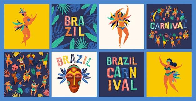 Brasilien karneval.