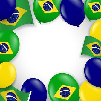 Brasilien unabhängigkeitstag illustration