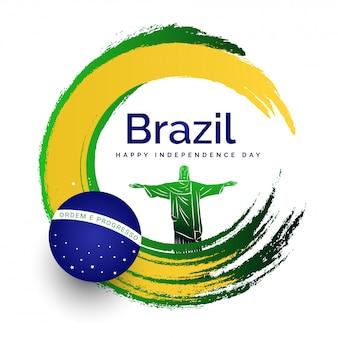 Brasilien-unabhängigkeitstagfeierkonzept.