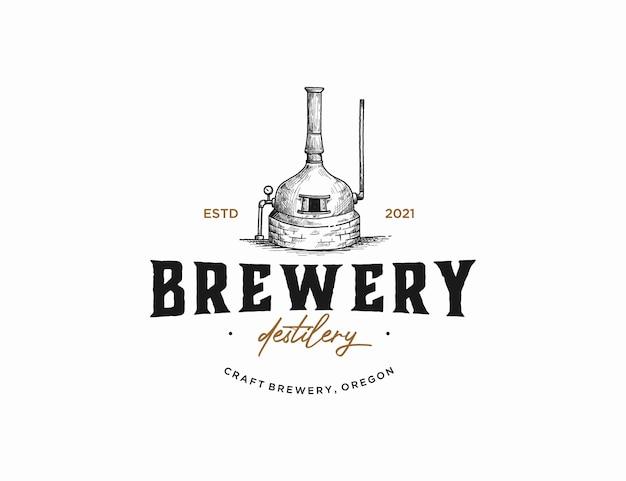 Brauerei für kupferbrennerei