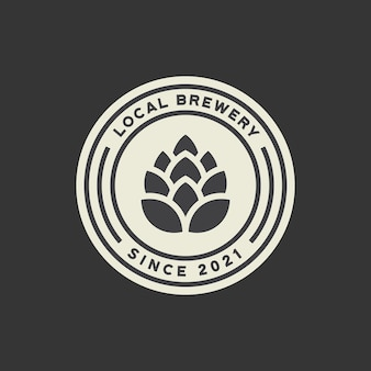 Brauerei-logo-vorlage
