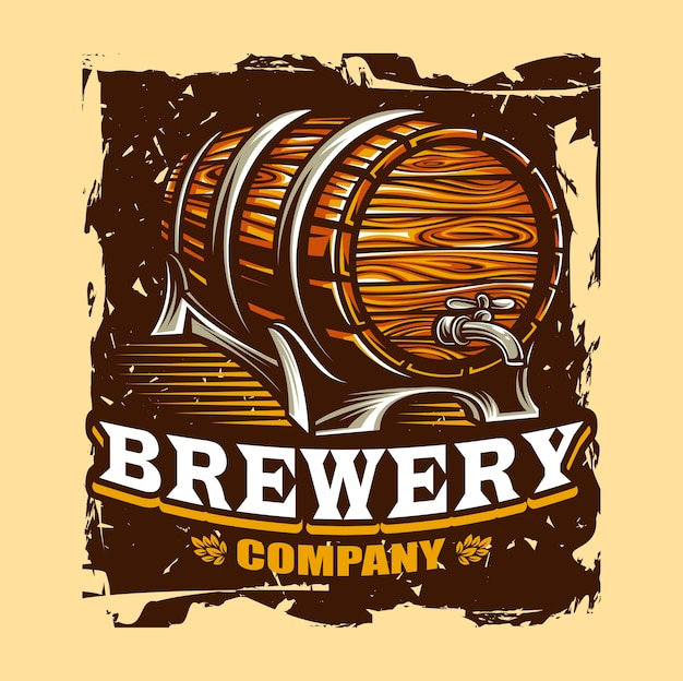Brauerei-vektor-illustration