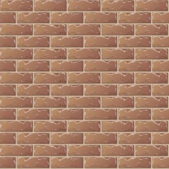 Braune backsteinmauer