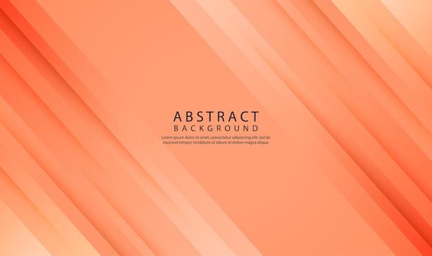 Braune geometrische abstrakte hintergrundüberlappungsschicht mit 3d-diagonalformen dekoration