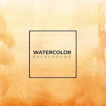 Brauner abstrakter aquarellhintergrund, handfarbe. farbspritzer auf dem papier