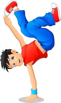 Breakdance junge
