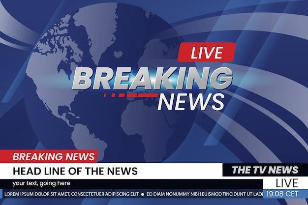 Breaking news stream design