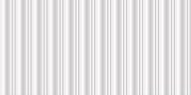 Breiter sauberer weißmetallbeschaffenheitshintergrund mit luxuskurve