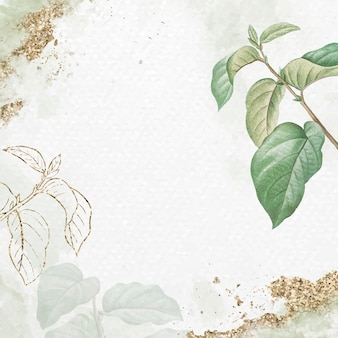 Briançon aprikosenblattmuster hintergrundvektor