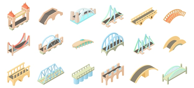 Bridge-icon-set