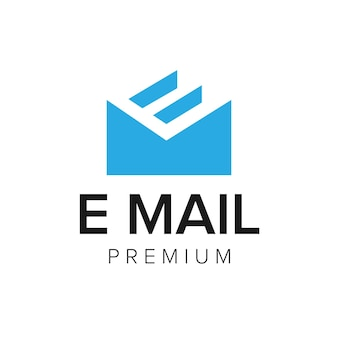 Brief e mail logo symbol vektor vorlage