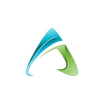 Brief ein logo
