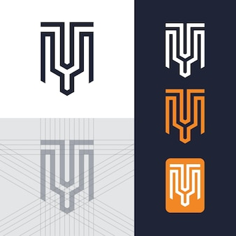 Brief tm-logo-vorlage