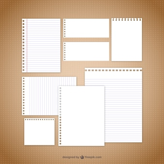 Briefbogen vektoren