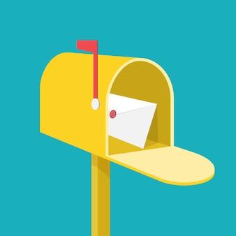 Briefkasten.