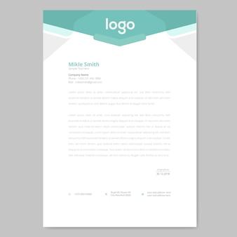 Briefkopf design
