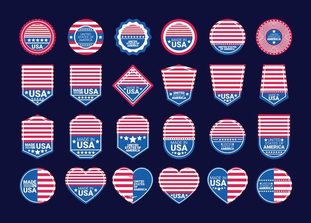 Briefmarken von usa