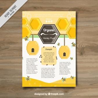 Briefpapier für honig