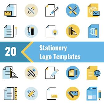 Briefpapier-logo-vorlagen