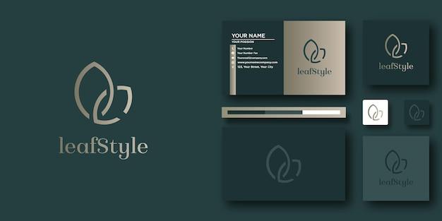 Briefvorlage für luxuspferdelogo mit modernem konzept und visitenkartendesign business