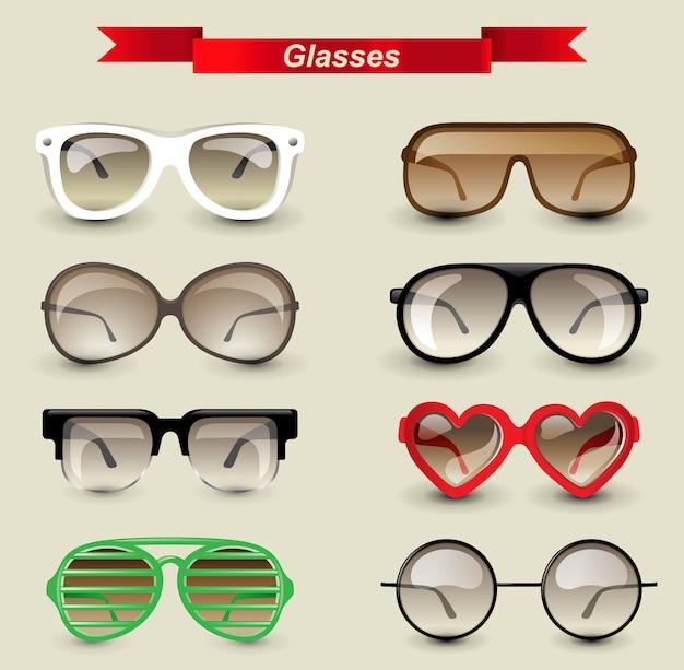 Brille gesetzt