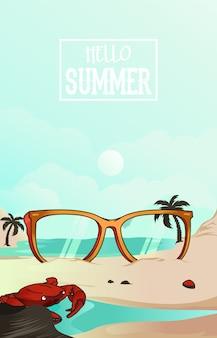 Brillen sommer
